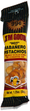 "I.M. Good ""Hot"" Habanero Pistachios"