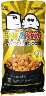 Ike & Sam's Kettlecorn Caramel Cheddar Twist