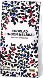 Choklad Lingon & Blåbär