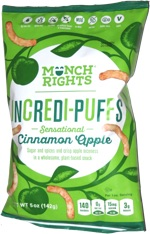 Munch Rights Incredi-Puffs Sensational Cinammon Apple