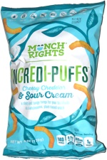 Munch Rights Incredi-Puffs Cheesy Cheddar & Sour Cream