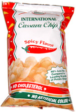 Indies International Cassava Chips Spicy Flavor