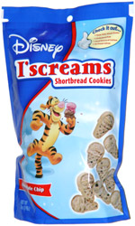 Disney I'screams Shortbread Cookies Chocolate Chip