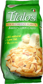 Italo's Four Cheeses Baked Corn Chips