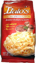 Italo's Tuscan Spices Baked Potato Chips