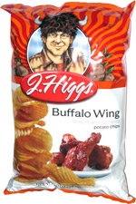 J. Higgs Buffalo Wing Potato Chips