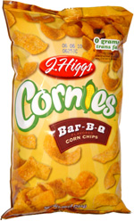 J. Higgs Cornies Bar-B-Q Corn Chips