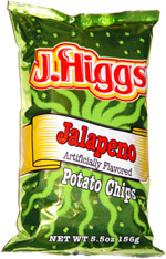 J. Higgs Jalapeno Potato Chips