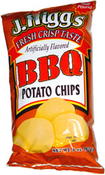J. Higgs BBQ Potato Chips
