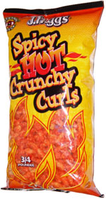 J. Higgs Spicy Hot Crunchy Curls
