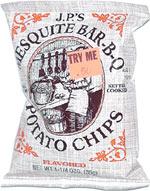 J.P.'s Mesquite Bar-B-Q Potato Chips