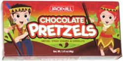 Jack N Jill Chocolate Pretzels