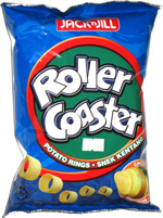 Jack 'n Jill Roller Coaster Potato Rings Cheese
