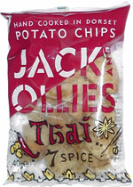 Jack and Ollie's Thai 7 Spice Potato Chips