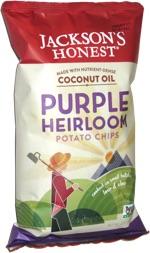 Jackson's Honest Purple Heirloom Potato Chips