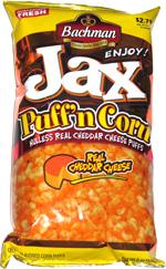 Jax Puff'n Corn