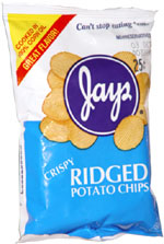 Jays Crispy Ridged Potato Chips