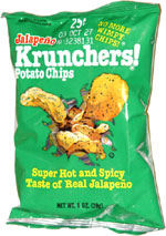Jays Krunchers! Jalapeno Potato Chips