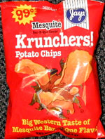 Jays Krunchers! Mesquite Bar-B-Que Flavor Potato Chips