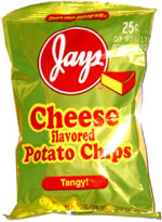 Jays Cheese Flavored Potato Chips