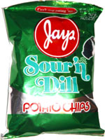 Jays Sour 'n Dill Potato Chips