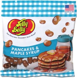Jelly Belly Pancakes & Maple Syrup