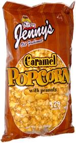 Jenny's Old Fashioned Caramel Popcorn with Peanuts