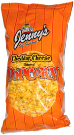 Jenny's Old Fashioned Cheddar Cheese Popcorn