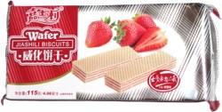 Jiashili Biscuits Strawberry Wafer