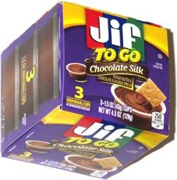 Jif To Go Chocolate Silk