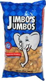 Jimbo's Jumbos Salted & Roasted Peanuts