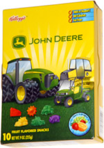 John Deere Fruit Flavored Snacks