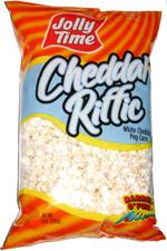 Jolly Time Cheddar Riffic White Cheddar Pop Corn