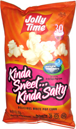 Jolly Time Kinda Sweet ... Kinda Salty Pop Corn