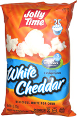 Jolly Time White Cheddar Delicious White Pop Corn