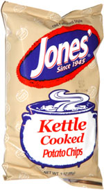 Jones' Old Fashioned Style Kettle Cooked Potato Chips