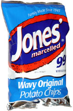 Jones' Marcelled Wavy Original Potato Chips