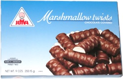 Joyva Marshmallow Twists Chocolate Covered