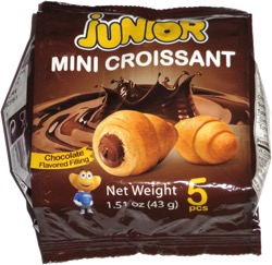 Junior Mini Croissant Chocolate