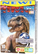 Jurassic World Assorted Fruit Flavored Snacks