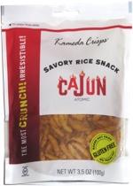 Kameda Crisps Savory Rice Snack Cajun Atomic