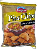 Kanagroo Pita Chips Zesty Cheddar