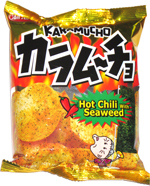 Karamucho Hot Chili with Seaweed Potato Chips