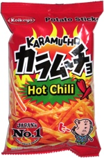 Karamucho Hot Chili Potato Sticks