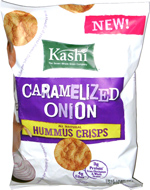 Kashi Caramelized Onion Hummus Crisps