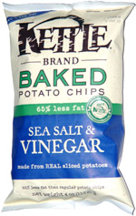 Kettle Baked Potato Chips Sea Salt & Vinegar