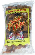 Kay & Ray's Dark Potato Chips