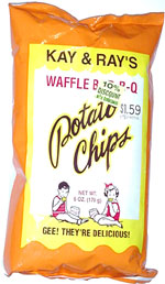 Kay & Ray's Waffle Bar-B-Q Potato Chips