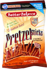 Kay's Naturals Better Balance Cinnamon Toast Pretzel Sticks