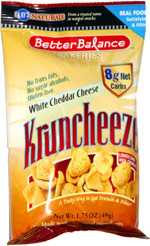 Kay's Naturals Better Balance Bakeries White Cheddar Cheese Kruncheeze